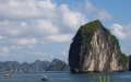 A giant on the sea - halongbay