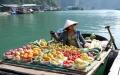 Boat hawker Halong Bay