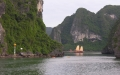 Somewhere in Halong Bay