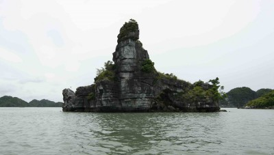 Xếp islet in Halong bay