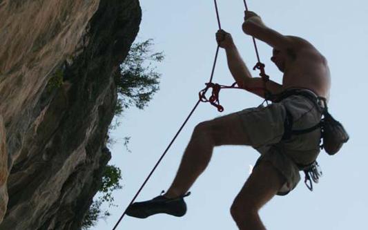 oriental sails - rock climbing