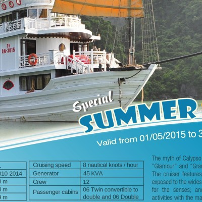 Summer 2015 Promotion – Calypso Cruiser