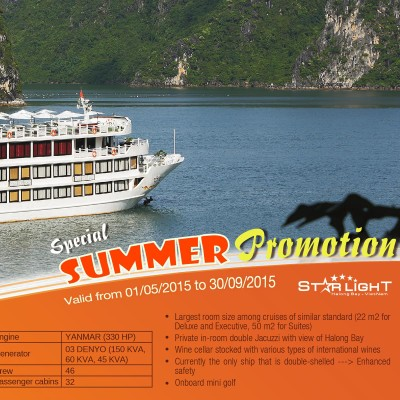 Promotion ORIENTAL SAILS YOUR BEST CHOICE FOR HALONG BAY CRUISES - Cruise ship promotions