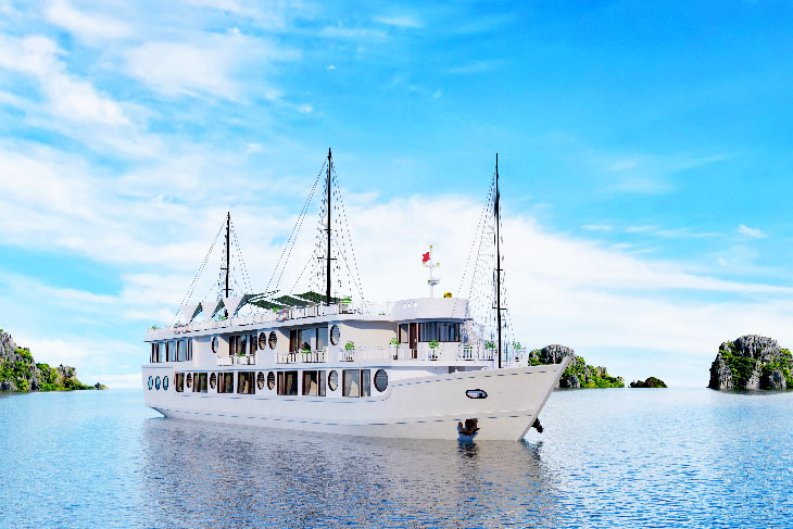Calypso Cruises - new product of Oriental Sails Jsc on Lan Ha bay