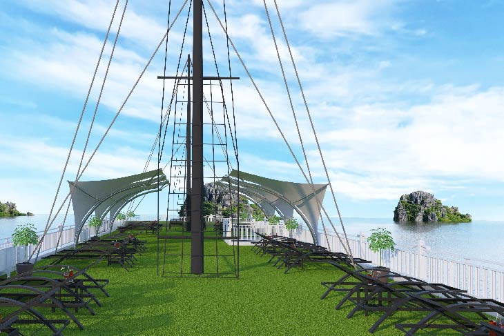 Calypso Cruises - the new product of Oriental Sails Jsc on Lan Ha bay