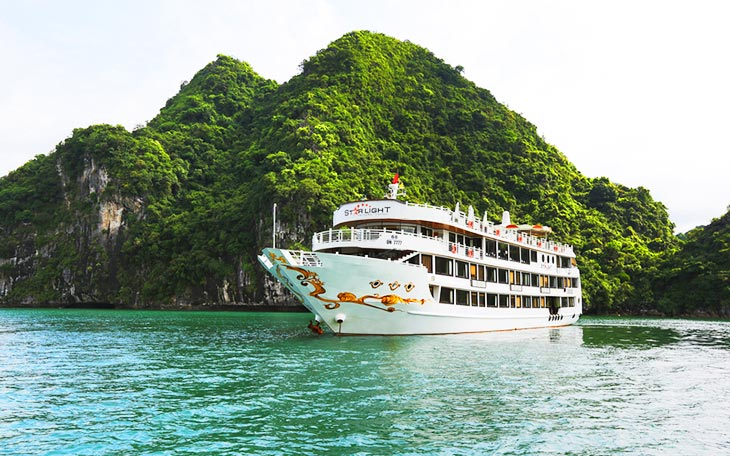 Starlight cruise – the safest, most class boat in Halong Bay