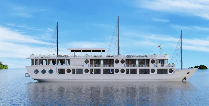 Oriental Sails Jsc officially starts selling Calypso cruises on Lan Ha Bay