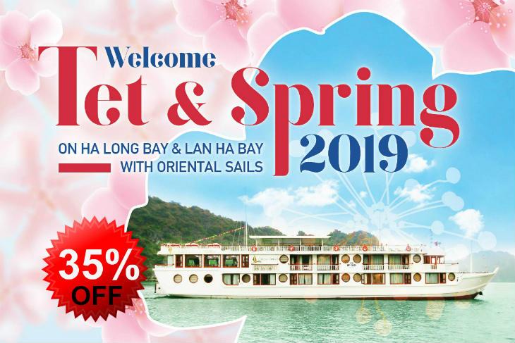 Oriental sails Tet promotion 2019