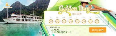Calypso Cruises – Golden day June 2019