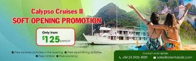 Cruises II Soft Opening Promotion until 30 Sept 2019 – Just 125$