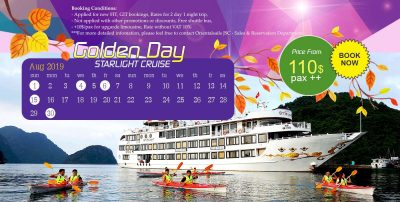 Oriental Sails – Golden Days in August 2019