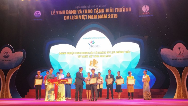 Oriental Sails is proud to win the Vietnam Tourism Award 2019