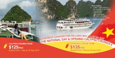 The National Day & Opening Calypso Cruises II PROMOTION