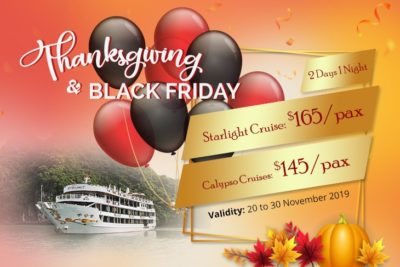 ORIENTAL SAILS BLACK FRIDAY – THANKSGIVING DAY 2019